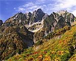 Toyama Prefecture Mt. Tsurugi 8 Thu,peak                                                                                                                                                                 Stock Photo - Premium Rights-Managed, Artist: Aflo Relax               , Code: 859-03039866