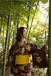 Young Asian woman in kimono                                                                                                                                                                              Stock Photo - Premium Rights-Managed, Artist: Aflo Relax               , Code: 859-03039874