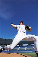 professional baseball game - Sports                                                                                                                                                                                                   Stock Photo - Premium Rights-Managednull, Code: 858-03044577