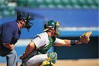 professional baseball game - Sports                                                                                                                                                                                                   Stock Photo - Premium Rights-Managednull, Code: 858-03044579