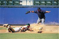 professional baseball game - Sports                                                                                                                                                                                                   Stock Photo - Premium Rights-Managednull, Code: 858-03044591