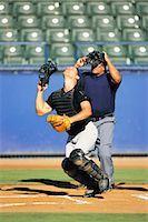professional baseball game - Sports                                                                                                                                                                                                   Stock Photo - Premium Rights-Managednull, Code: 858-03044595