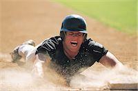 professional baseball game - Sports                                                                                                                                                                                                   Stock Photo - Premium Rights-Managednull, Code: 858-03044615