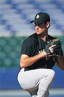 professional baseball game - Sports                                                                                                                                                                                                   Stock Photo - Premium Rights-Managednull, Code: 858-03044625