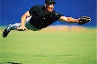 professional baseball game - Sports                                                                                                                                                                                                   Stock Photo - Premium Rights-Managednull, Code: 858-03044628