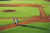 professional baseball game - Sports                                                                                                                                                                                                   Stock Photo - Premium Rights-Managednull, Code: 858-03044655