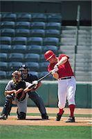 professional baseball game - Sports                                                                                                                                                                                                   Stock Photo - Premium Rights-Managednull, Code: 858-03044667