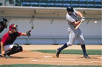professional baseball game - Sports                                                                                                                                                                                                   Stock Photo - Premium Rights-Managednull, Code: 858-03044670