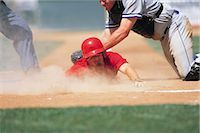 professional baseball game - Sports                                                                                                                                                                                                   Stock Photo - Premium Rights-Managednull, Code: 858-03044675