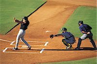 professional baseball game - Sports                                                                                                                                                                                                   Stock Photo - Premium Rights-Managednull, Code: 858-03044690