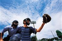 professional baseball game - Sports                                                                                                                                                                                                   Stock Photo - Premium Rights-Managednull, Code: 858-03044833
