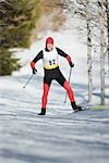 Cross Country Skiing                                                                                                                                                                                     Stock Photo - Premium Rights-Managed, Artist: Aflo Sport               , Code: 858-03048393