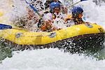 Whitewater Rafting                                                                                                                                                                                       Stock Photo - Premium Rights-Managed, Artist: Aflo Sport               , Code: 858-03049035