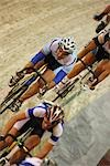 Cyclists Racing                                                                                                                                                                                          Stock Photo - Premium Rights-Managed, Artist: Aflo Sport               , Code: 858-03049059