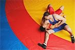Wrestler Doing a Chokehold                                                                                                                                                                               Stock Photo - Premium Rights-Managed, Artist: Aflo Sport               , Code: 858-03049626