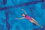 Synchronized Swimming                                                                                                                                                                                    Stock Photo - Premium Rights-Managed, Artist: Aflo Sport               , Code: 858-03051439