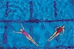 Synchronized Swimming                                                                                                                                                                                    Stock Photo - Premium Rights-Managed, Artist: Aflo Sport               , Code: 858-03051442