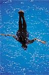 Synchronized Swimming                                                                                                                                                                                    Stock Photo - Premium Rights-Managed, Artist: Aflo Sport               , Code: 858-03051444