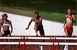 Hurdle Race                                                                                                                                                                                              Stock Photo - Premium Rights-Managed, Artist: Aflo Sport               , Code: 858-03051483