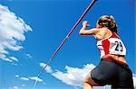 Pole Vault Jump                                                                                                                                                                                          Stock Photo - Premium Rights-Managed, Artist: Aflo Sport               , Code: 858-03052676