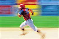 professional baseball game - Baseball (Running)                                                                                                                                                                                       Stock Photo - Premium Rights-Managednull, Code: 858-03052783
