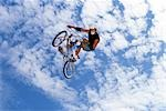 BMX Biking                                                                                                                                                                                               Stock Photo - Premium Rights-Managed, Artist: Aflo Sport               , Code: 858-03053098