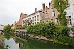 Canal in Bruges, Belgium                                                                                                                                                                                 Stock Photo - Premium Rights-Managed, Artist: Tomasz Rossa             , Code: 700-03053942