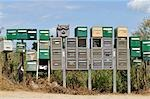 Mailboxes Stock Photo - Premium Rights-Managed, Artist: Jean-Christophe Riou     , Code: 700-03053988