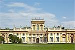 Wilanow Palace, Wilanow, Warsaw, Poland                                                                                                                                                                  Stock Photo - Premium Rights-Managed, Artist: Tomasz Rossa             , Code: 700-03054167