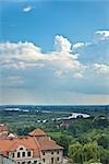 Overview of Sandomierz, Poland                                                                                                                                                                           Stock Photo - Premium Rights-Managed, Artist: Tomasz Rossa             , Code: 700-03054206