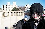 Teenagers, Harajuku ward, Tokyo, Japan, Asia                                                                                                                                                             Stock Photo - Premium Rights-Managed, Artist: Robert Harding Images    , Code: 841-03055589