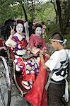 Geisha maiko (trainee geisha) in costume, Kyoto city, Honshu island, Japan, Asia                                                                                                                         Stock Photo - Premium Rights-Managed, Artist: Robert Harding Images    , Code: 841-03055984