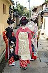 Geisha, maiko (trainee geisha) in Gion, Kyoto city, Honshu, Japan, Asia                                                                                                                                  Stock Photo - Premium Rights-Managed, Artist: Robert Harding Images    , Code: 841-03056242