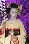Geisha, Maiko in Gion, Kyoto city, Honshu, Japan, Asia                                                                                                                                                   Stock Photo - Premium Rights-Managed, Artist: Robert Harding Images    , Code: 841-03056246