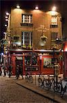 The Temple Bar pub, Temple Bar, Dublin, County Dublin, Republic of Ireland (Eire), Europe                                                                                                                Stock Photo - Premium Rights-Managed, Artist: Robert Harding Images    , Code: 841-03057827