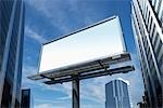 Blank Billboard Stock Photo - Premium Royalty-Free, Artist: Ken Davies               , Code: 600-03058943