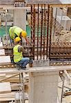 Workers at Construction Site                                                                                                                                                                             Stock Photo - Premium Rights-Managed, Artist: Peter Christopher        , Code: 700-03059047