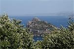 Aragonese Castle, Ischia Ponte, Ischia, Province of Naples, Campania, Italy                                                                                                                              Stock Photo - Premium Rights-Managed, Artist: Leonardo                 , Code: 700-03059235