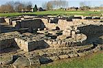 Roman Fort and settlement at Vindolanda, south side of Roman Wall, UNESCO World Heritage Site, Northumbria, England, United Kingdom, Europe                                                              Stock Photo - Premium Rights-Managed, Artist: Robert Harding Images    , Code: 841-03061114