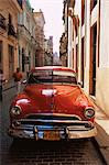 Old car, Havana, Cuba, West Indies, Central America