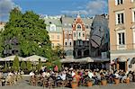 Street cafe, Doma Square, Riga, Latvia, Baltic States, Europe                                                                                                                                            Stock Photo - Premium Rights-Managed, Artist: Robert Harding Images    , Code: 841-03062901