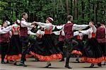 Traditional Latvian folk dancing, performed at the Latvian Open Air Ethnographic Museum (Latvijas etnografiskais brivdabas muzejs), near Riga, Latvia, Baltic States, Europe                             Stock Photo - Premium Rights-Managed, Artist: Robert Harding Images    , Code: 841-03062930
