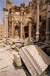Justice Basilica, Leptis Magna, UNESCO World Heritage Site, Tripolitania, Libya, North Africa, Africa                                                                                                    Stock Photo - Premium Rights-Managed, Artist: Robert Harding Images    , Code: 841-03063339