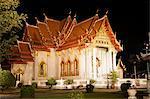Wat Benchamabophit (Marble Temple), Bangkok, Thailand, Southeast Asia, Asia