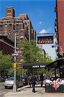 restaurant new york manhattan - Pete's Tavern on Irving Place, Gramercy Park District, Midtown Manhattan, New York City, New York, United States of America, North America                                                               Stock Photo - Premium Rights-Managednull, Code: 841-03065606