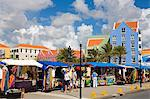 Market in Otrobanda District, Willemstad, Curacao, Netherlands Antilles, West Indies, Caribbean, Central America                                                                                         Stock Photo - Premium Rights-Managed, Artist: Robert Harding Images    , Code: 841-03065780