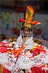 Dolls, Craft Market in La Savane Park, Fort-de-France, Martinique, French Antilles, West Indies, Caribbean, Central America