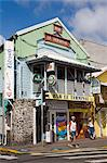 Terminal Bar on Ernest Deproge Street, Fort-de-France, Martinique, French Antilles, West Indies, Caribbean, Central America                                                                              Stock Photo - Premium Rights-Managed, Artist: robertharding, Code: 841-03066054
