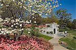Gilcrease Museum Gardens, Tulsa, Oklahoma, United States of America, North America                                                                                                                       Stock Photo - Premium Rights-Managed, Artist: Robert Harding Images    , Code: 841-03066275
