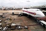 Airplane being refuelled, Don Muang airport, Bangkok, Thailand, Southeast Asia, Asia                                                                                                                     Stock Photo - Premium Rights-Managed, Artist: Robert Harding Images    , Code: 841-03066793